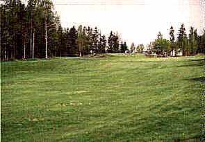 View of 3rd green from dog leg
